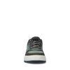 Groene lage sneakers met kroko motief