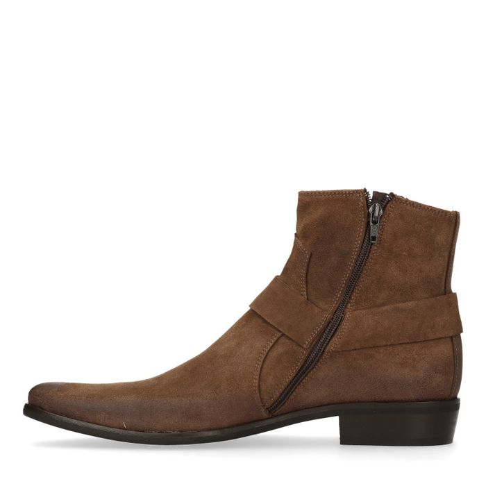 Taupe lage boots