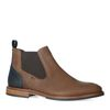 Taupe leren chelsea boots