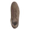 Taupe nubuck sneakers