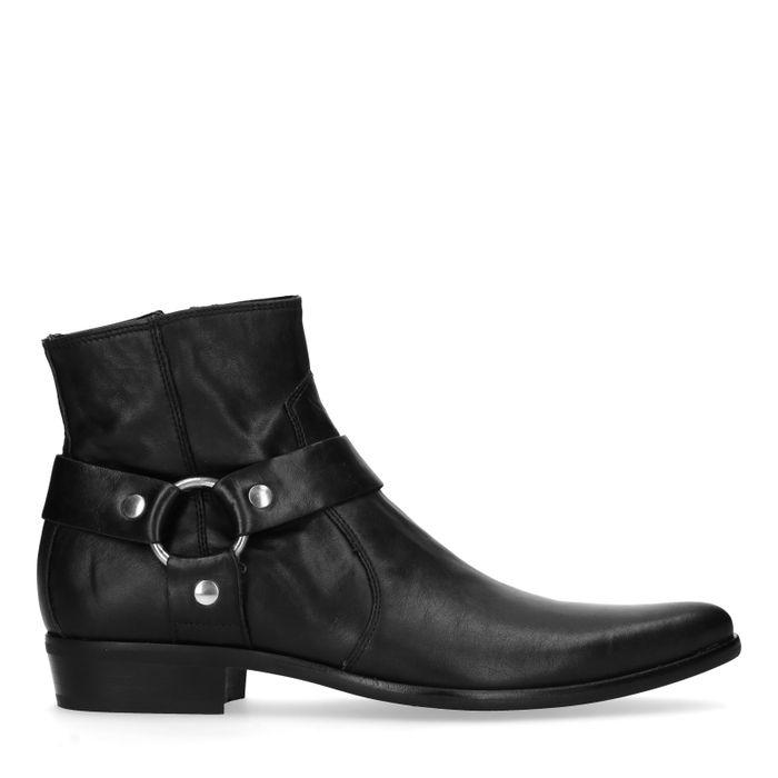Zwarte lage boots