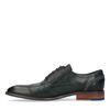 Zwarte veterschoenen met details