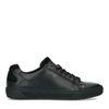 Zwarte leren sneakers