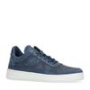 Donkerblauwe hoge sneakers