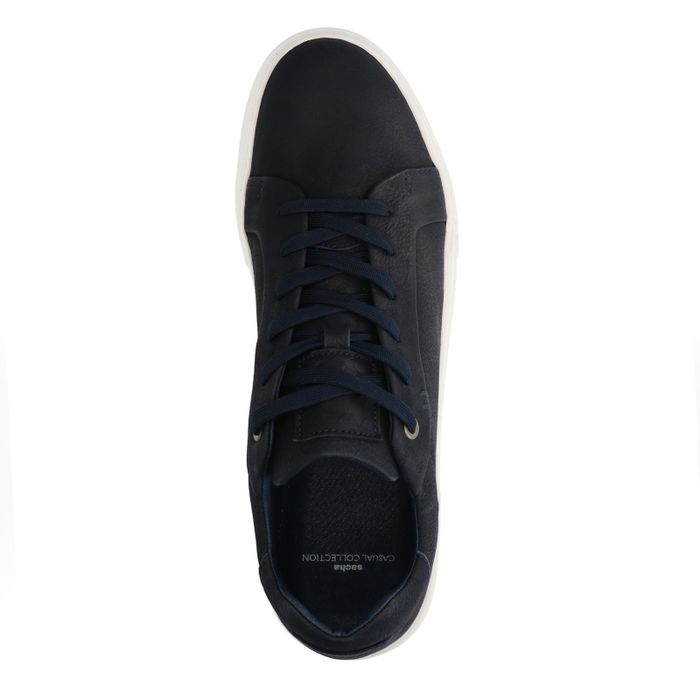 Navy nubuck sneakers