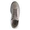 Grijze nubuck sneakers