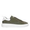 Groene nubuck sneakers