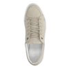 Taupe lage sneakers