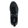 Zwarte nubuck sneakers