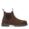 Bruine waterproof nubuck chelsea boots