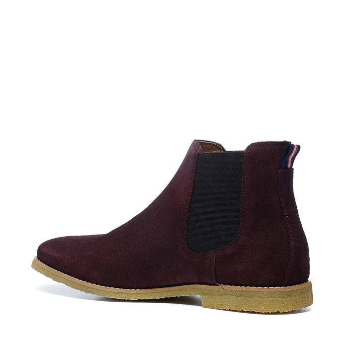 Bordeaux chelsea boots