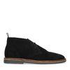 Zwarte suède desert boots