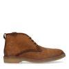 Cognac suède desert boots