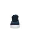 Blauwe suède sneakers
