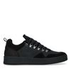 Zwarte suède sneakers