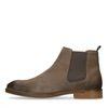 Grijze suède chelsea boots