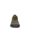 Donker groene suède sneakers