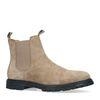 Taupe suède chelsea boots