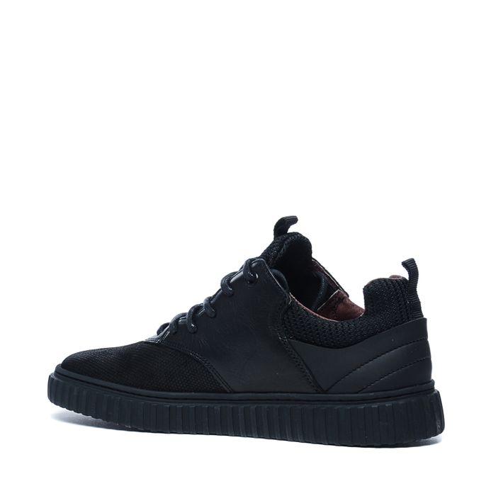 Zwarte hoge sneakers