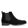 Zwart suède chelsea boots