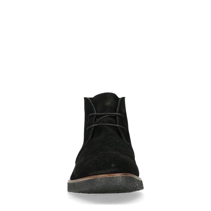 Zwarte desert boots