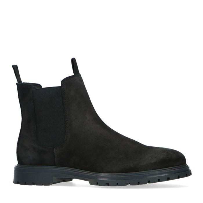 Rien x Sacha zwarte chelsea boots