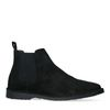 All black chelsea boots