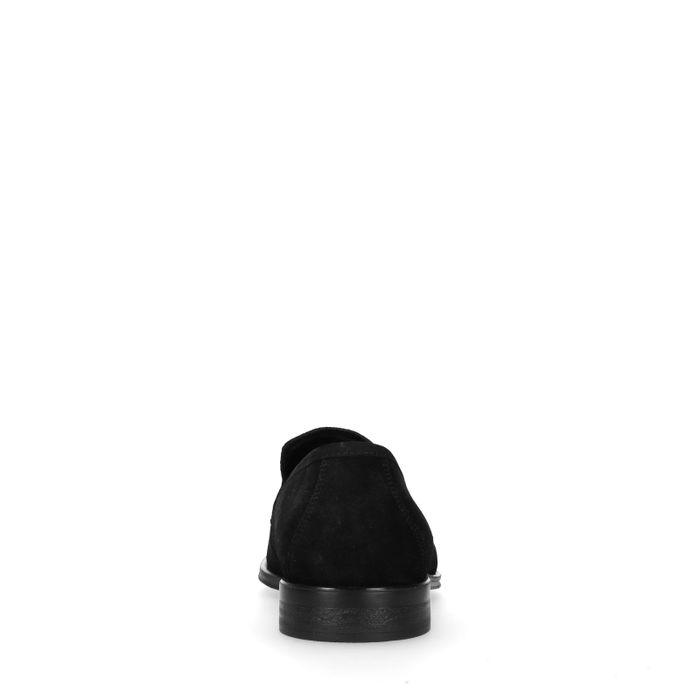 Rien x Sacha zwarte suède loafers