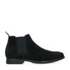 Zwarte suède chelsea boots