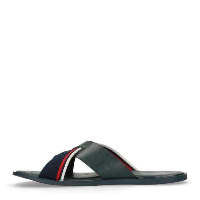 Donkerblauwe slippers