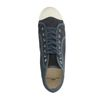 Donkergrijze hoge canvas sneakers