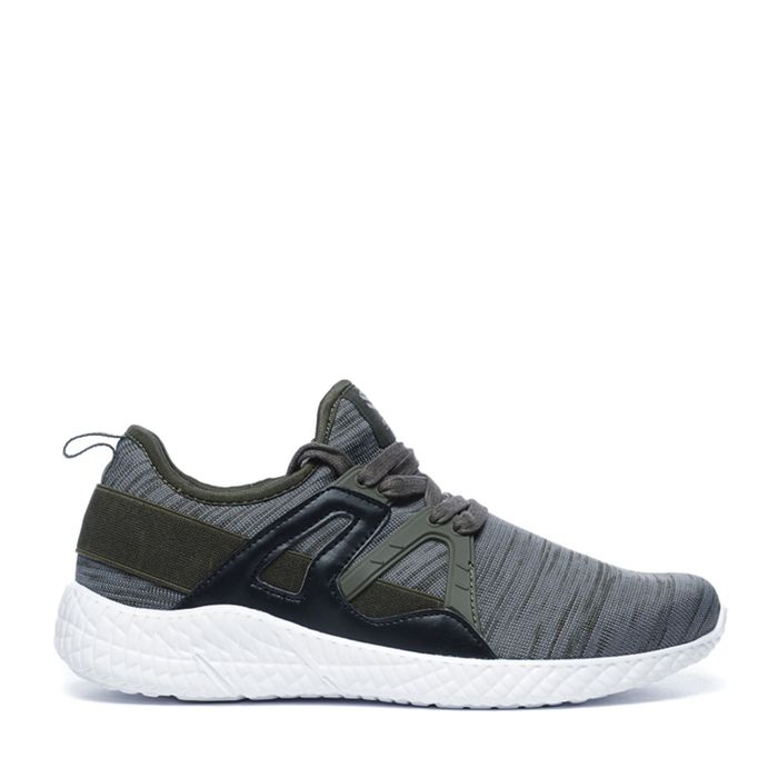 Lage sneakers khaki