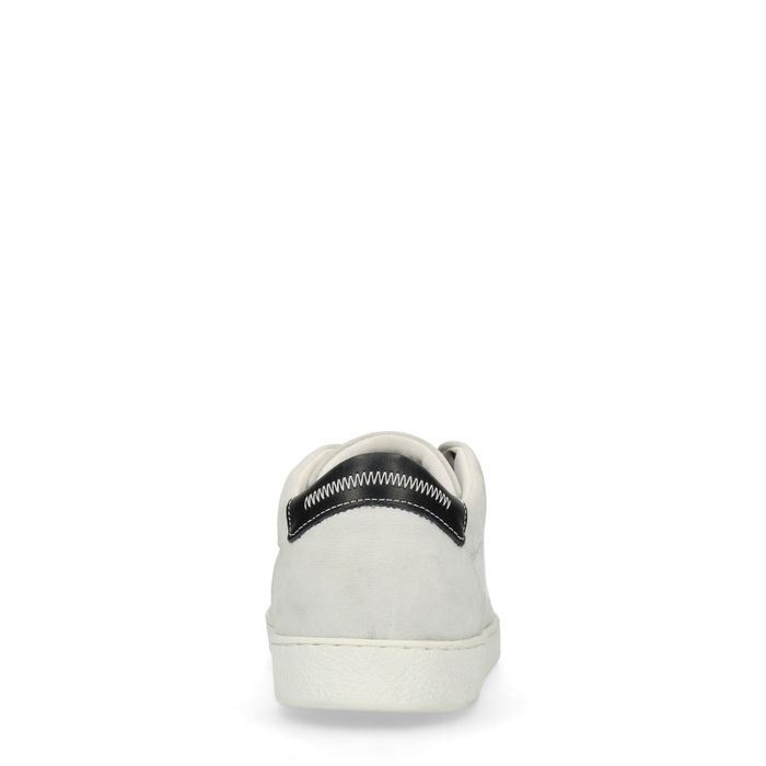 Witte lage sneakers