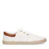 Witte sneakers van textiel