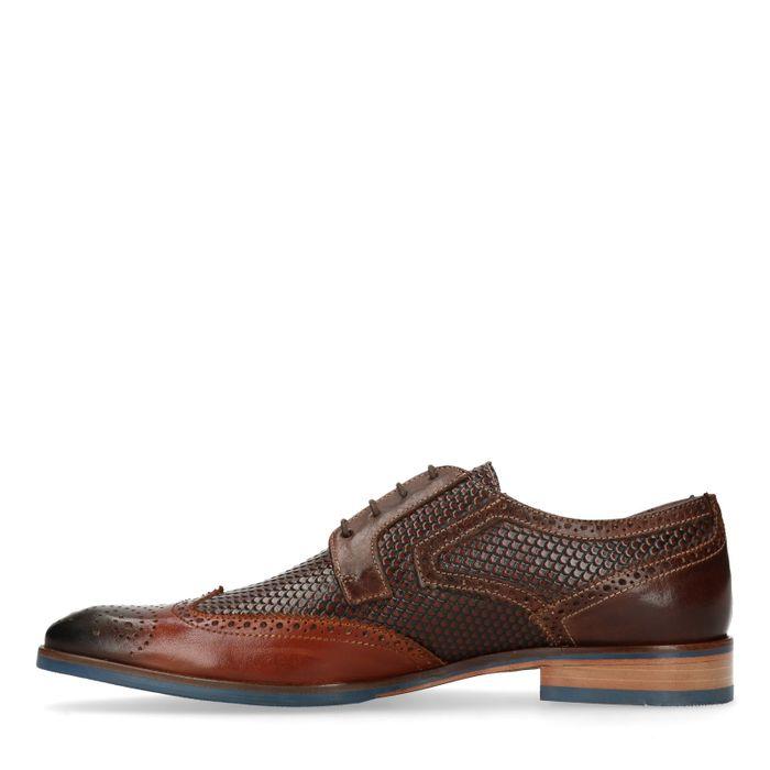 Braune Budapester-Schuhe