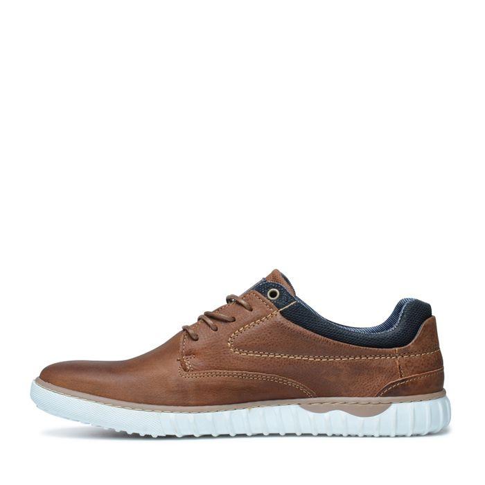 Cognacfarbene Sneaker