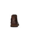 Dunkelbraune Chelsea Boots aus Leder