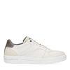 Weiße Sneaker mit grauem Detail