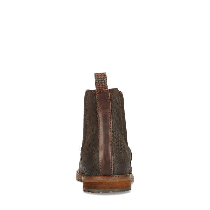 Dunkelbraune Chelsea Boots
