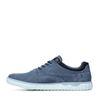 Blaue Sneaker
