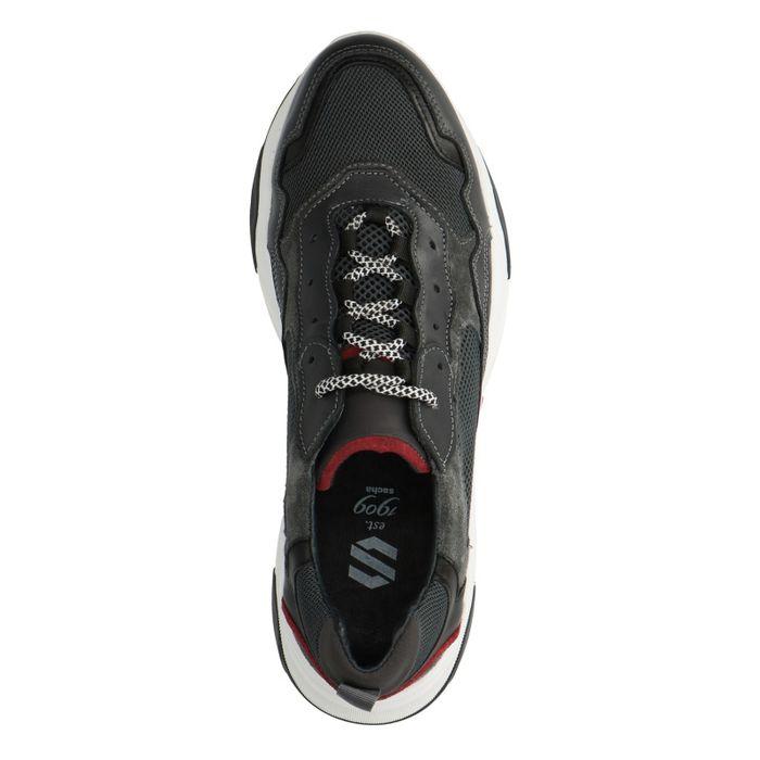 Dunkelgraue Dad-Sneaker