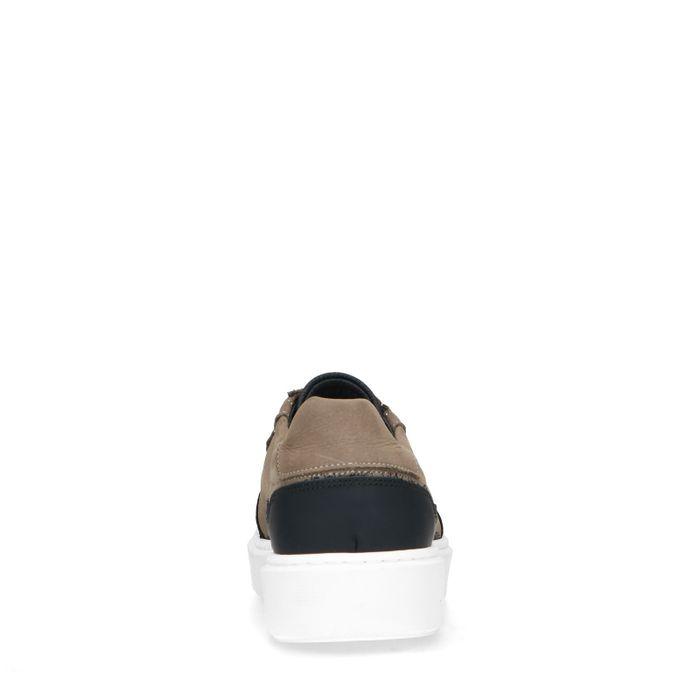 Kaki Ledersneaker