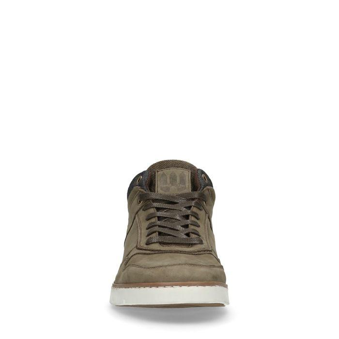 Hohe Sneaker khaki