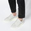 Offwhite Ledersneaker