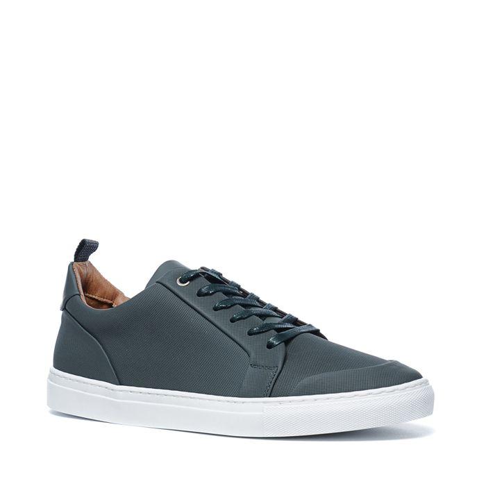 Olivgrüne Sneaker