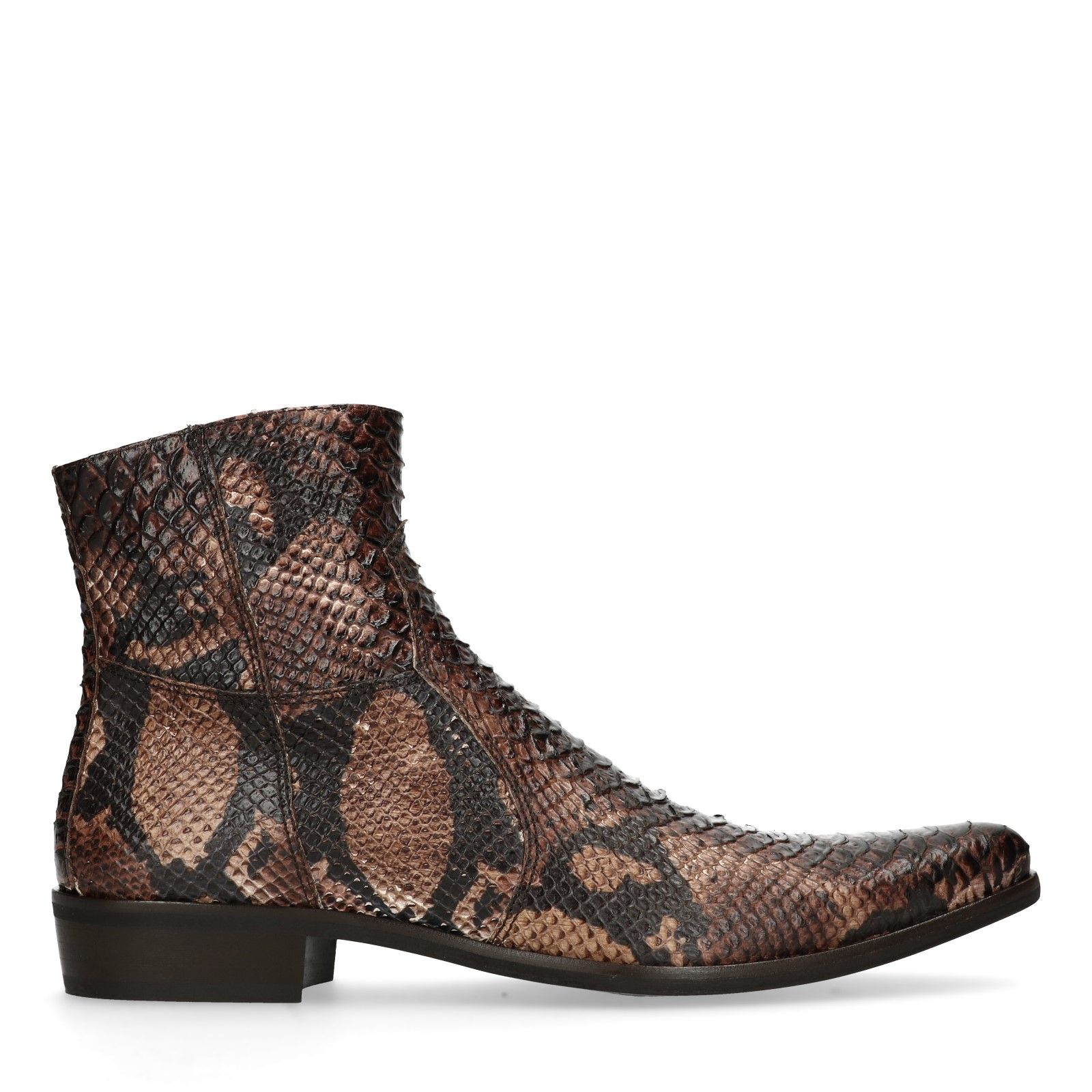 Sacha Boots mit Schlangenmuster