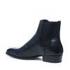 Spitze schwarze Chelsea Boots