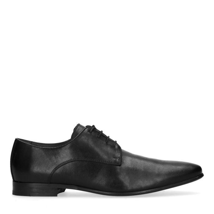 Schwarze Schnürschuhe
