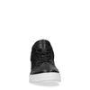 Sacha x Thomas Cox schwarze Leder-Sneaker