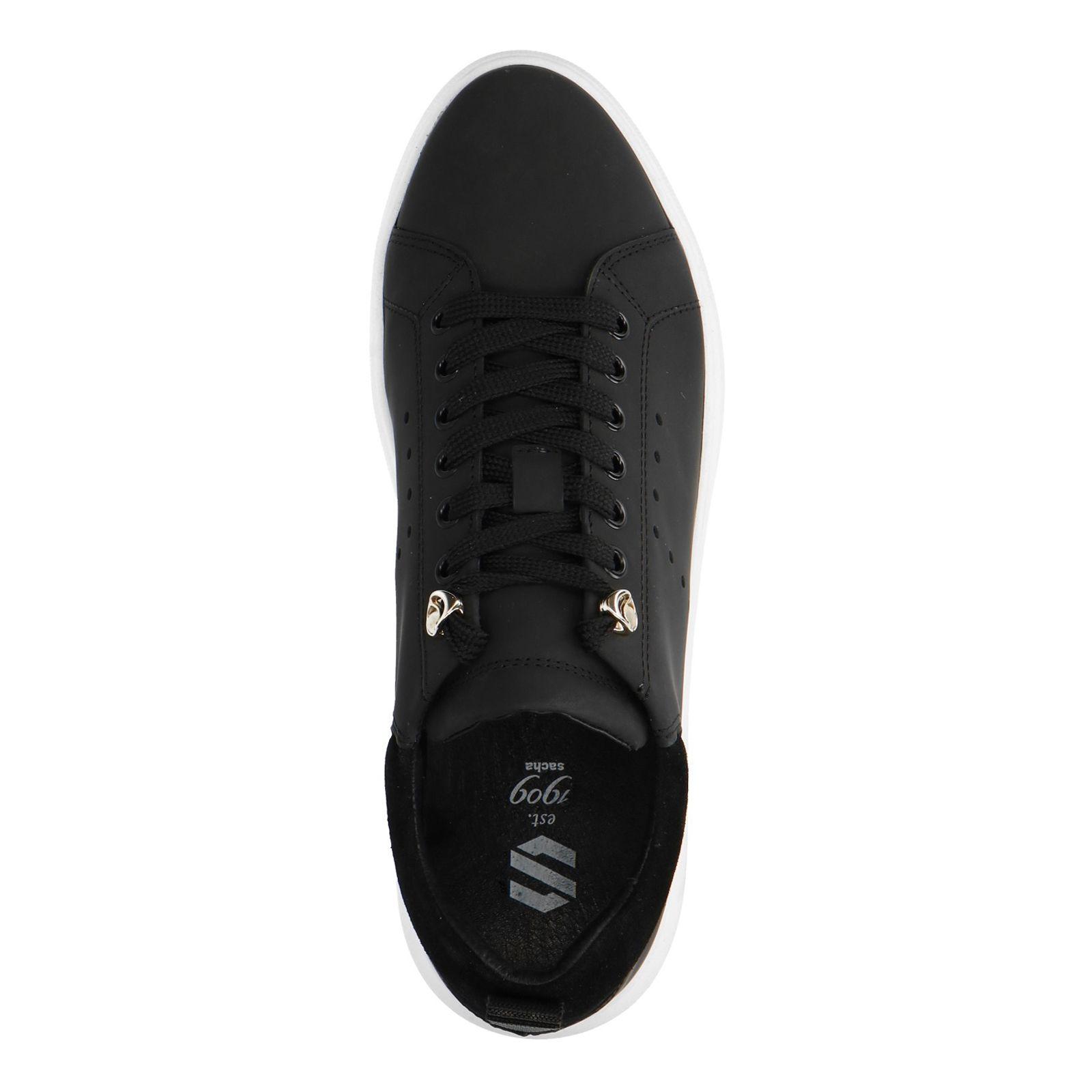 Sacha Schwarze Sneaker